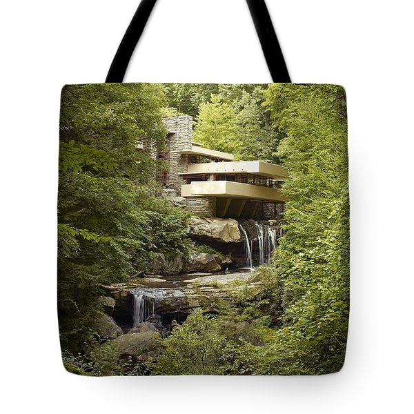 Falling Water Tote Bag by Carol Highsmith