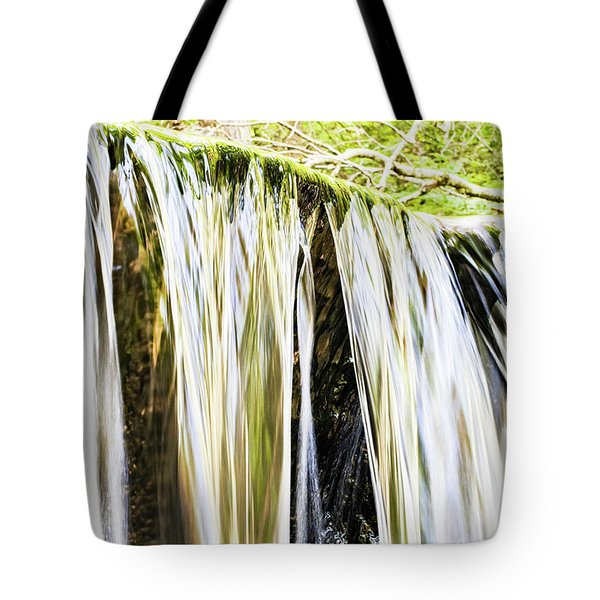Falling Water Mirror Tote Bag