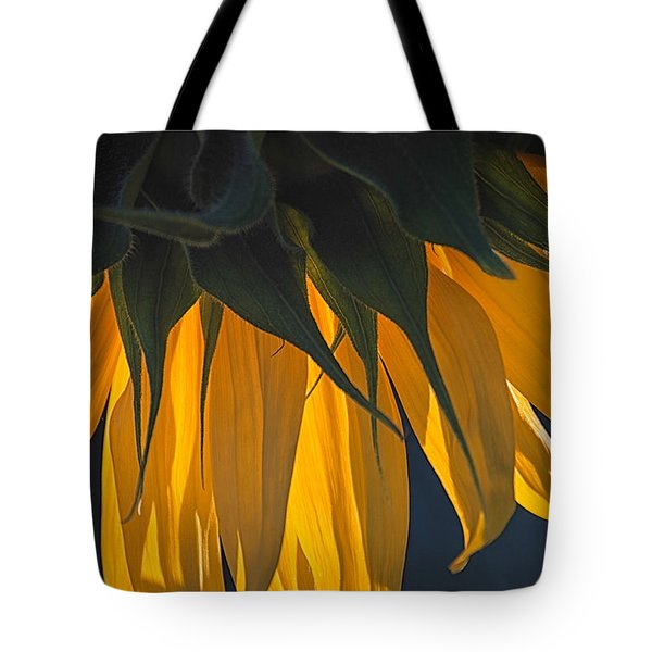 Falling Yellow  Tote Bag