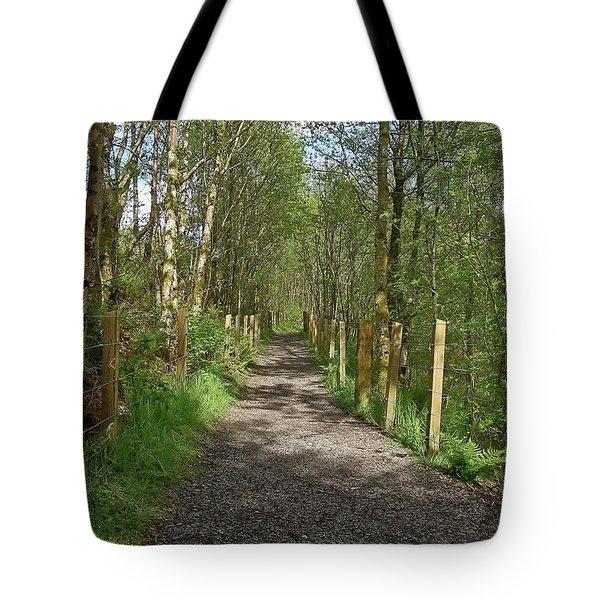 Falloch Path Tote Bag