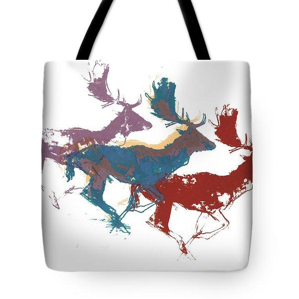 Fallow Bucks Tote Bag