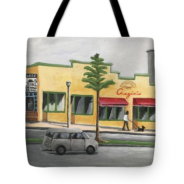 Falls Church Tote Bag by Victoria Lakes