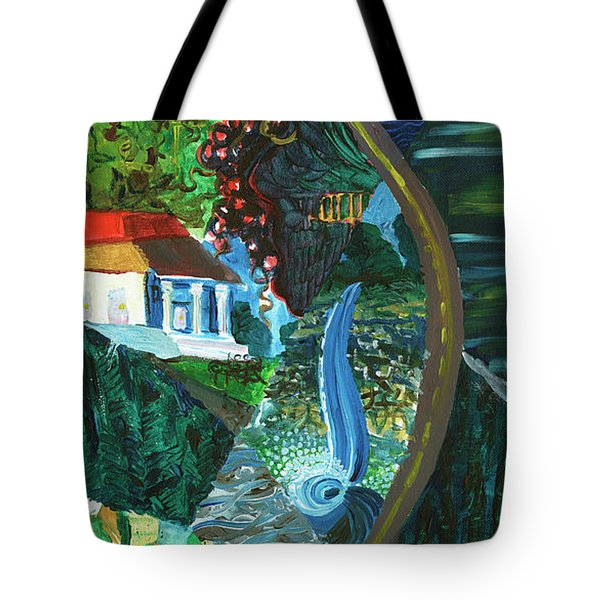 Falls, Fingers And Gorges Tote Bag