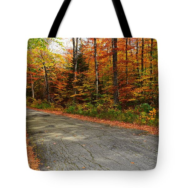 Falls Flowers Tote Bag