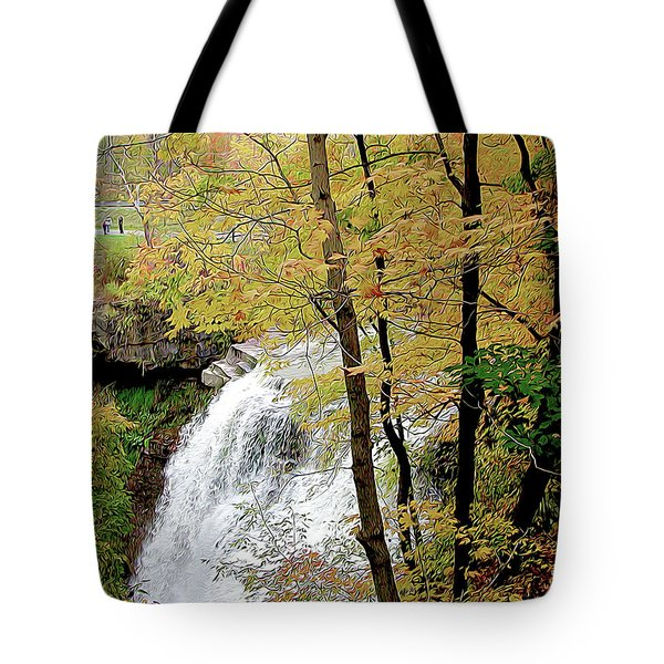 Falls In Autumn Tote Bag