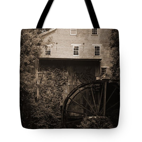 Fall's Mill Tote Bag