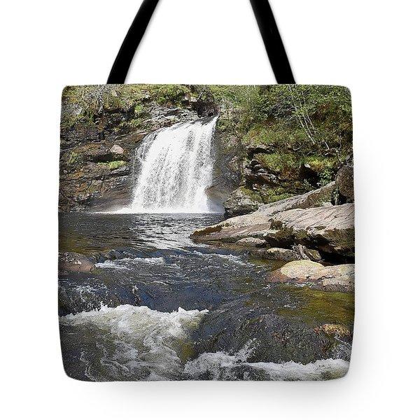 Falls Of Falloch Tote Bag