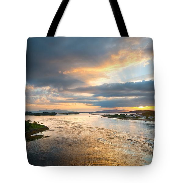 Falls Of Lora Tote Bag