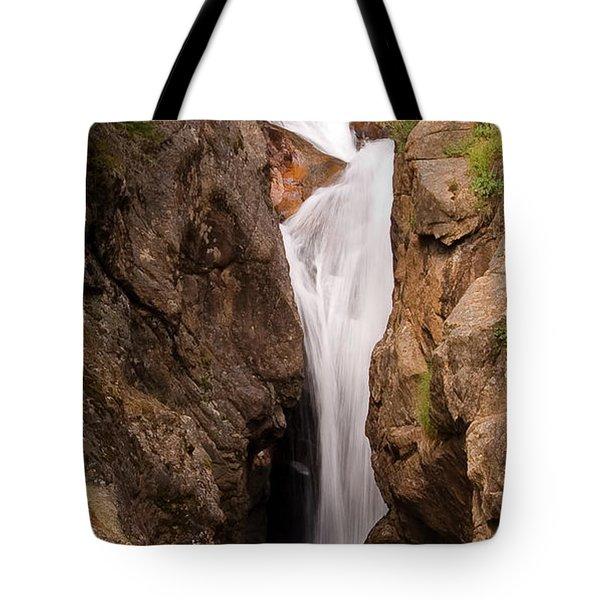 Falls On Falling River Tote Bag