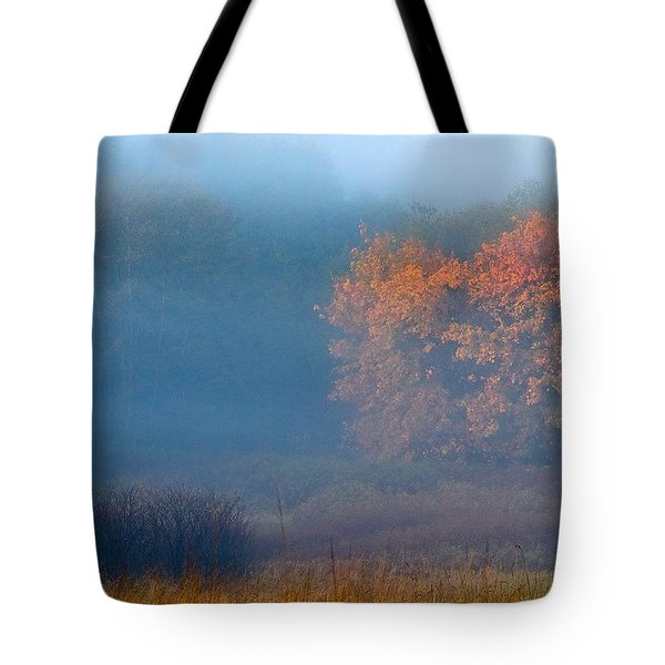 Falltime In The Meadow Tote Bag