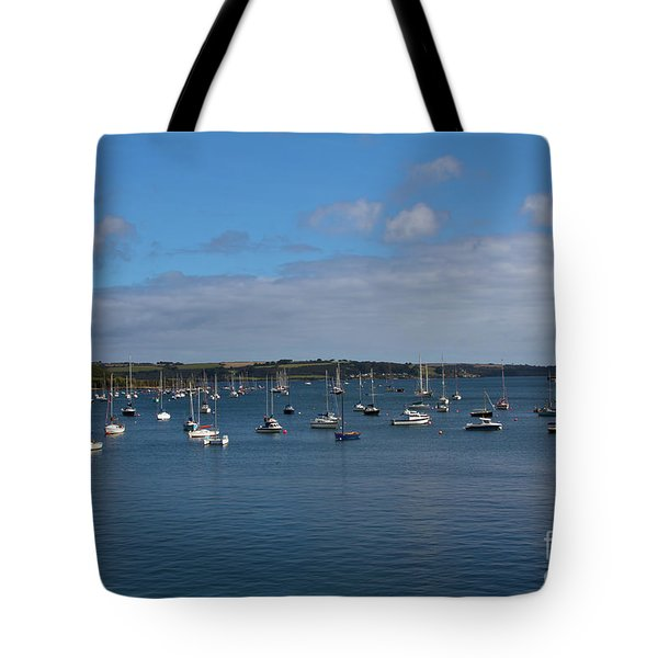 Falmouth Harbour Tote Bag by Brian Roscorla