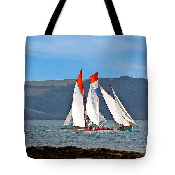 Falmouth Reggatta  Tote Bag