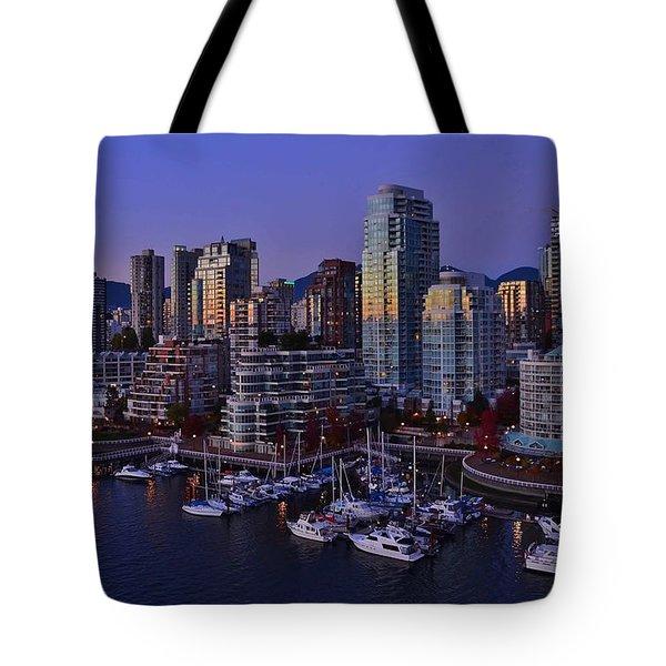 False Creek Blues Tote Bag