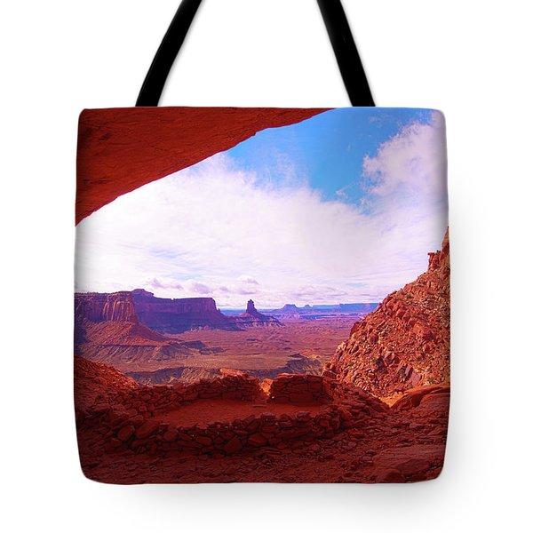 False Kiva Tote Bag