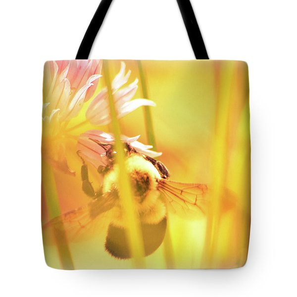 Fame Is A Bee Tote Bag by Bob Orsillo
