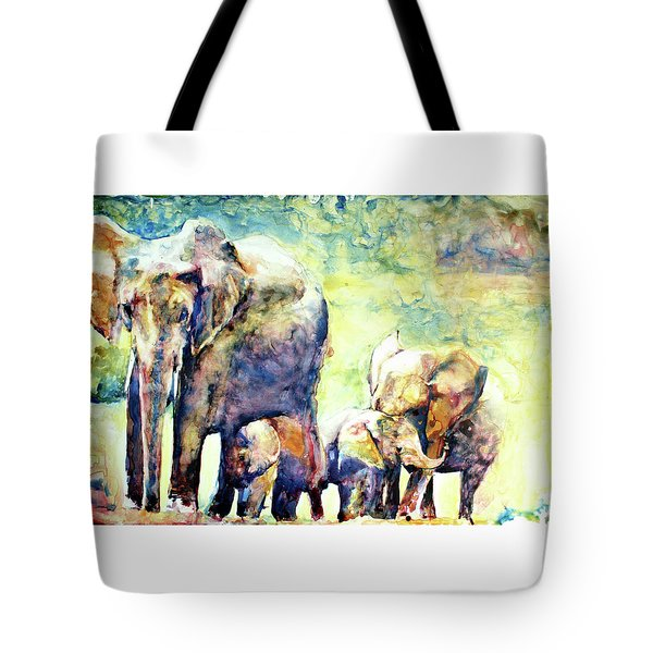 Familial Bonds Tote Bag