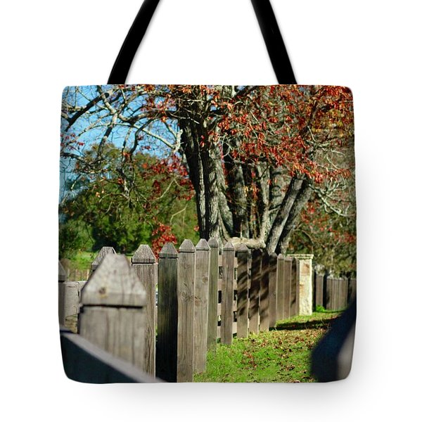 Tote Bag featuring the photograph Familiar Fall by Lori Mellen-Pagliaro