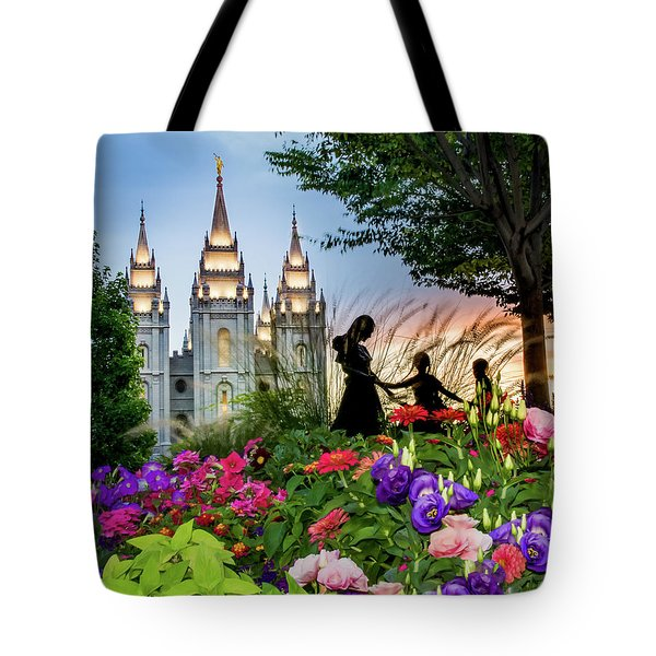 Families Are Forever Tote Bag