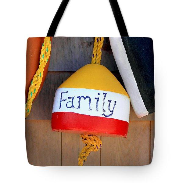 Family Buoy Tote Bag