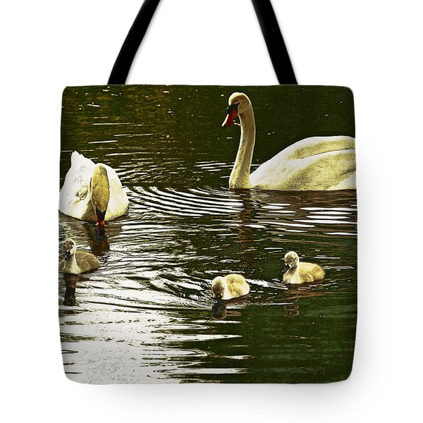 Tote Bag featuring the photograph Family Day Out  by Fine Art By Andrew David