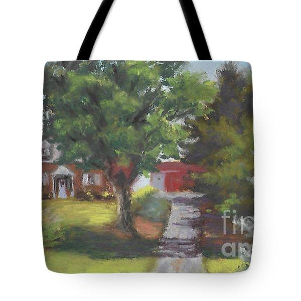 Family Farm Tote Bag by Terri  Meyer
