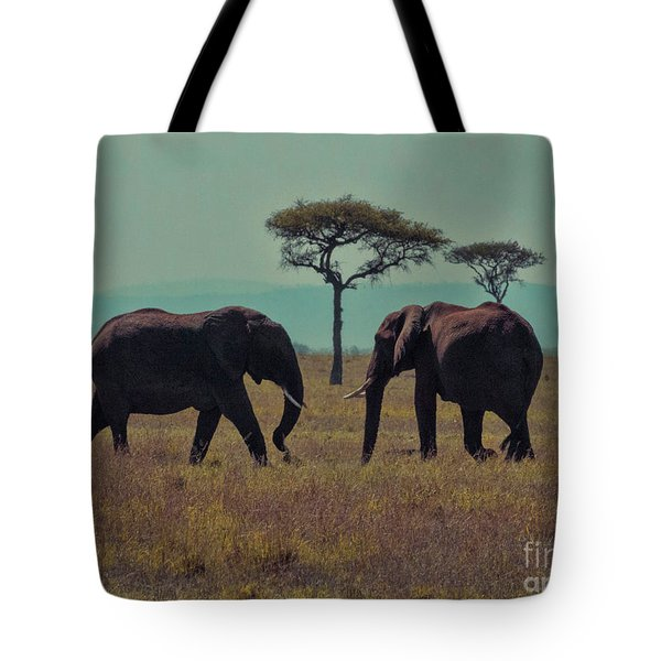 Family Tote Bag by Karen Lewis