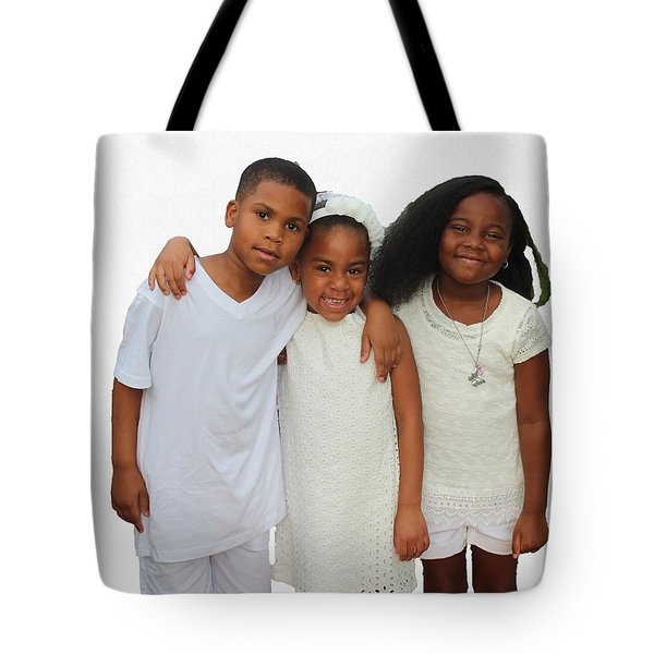 Family Love Tote Bag by Audrey Robillard