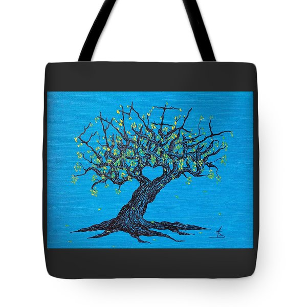 Family Love Tree Tote Bag
