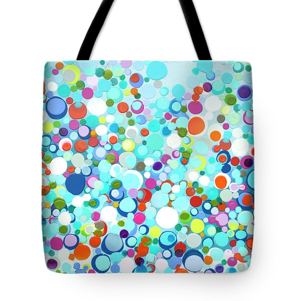 Family Of Fireflies Tote Bag