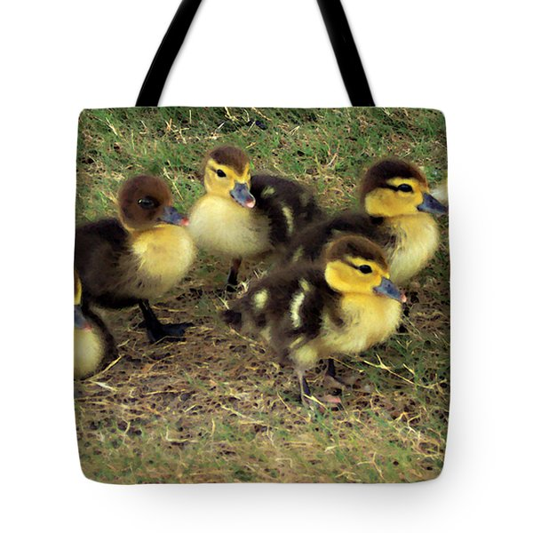 Family Portrait Tote Bag by Angelina Vick
