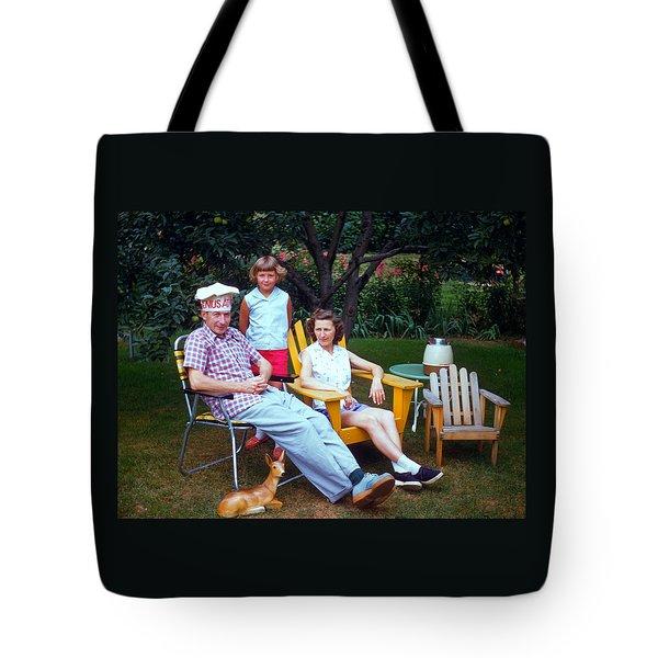 Family Portrait Tote Bag