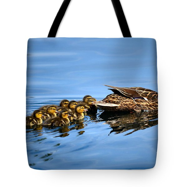 Family Swim Tote Bag