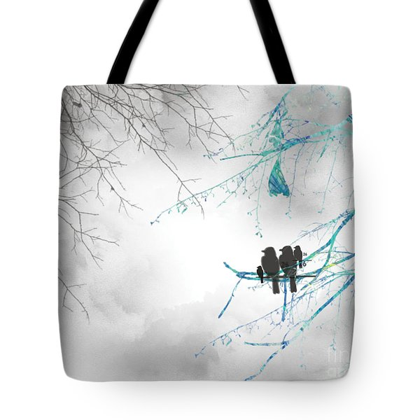 Family Togetherness Tote Bag by Trilby Cole