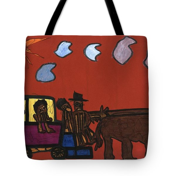 Family Transport Tote Bag