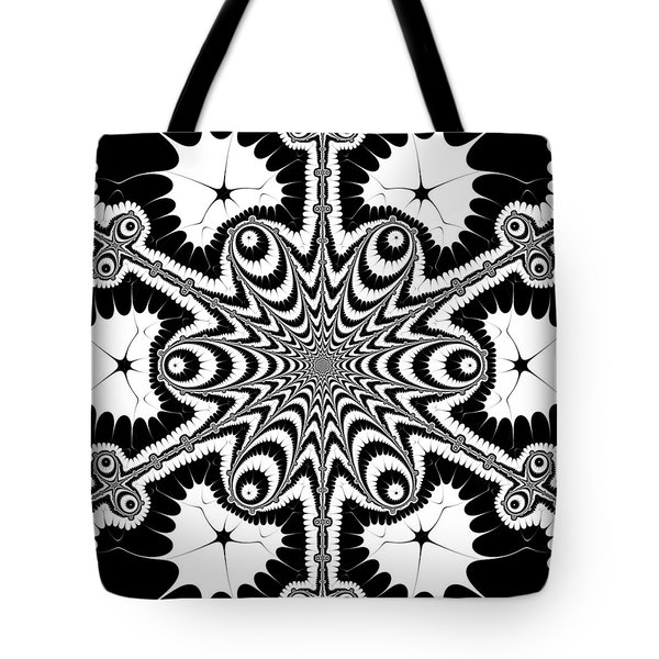 Tote Bag featuring the digital art Famoirkine by Andrew Kotlinski