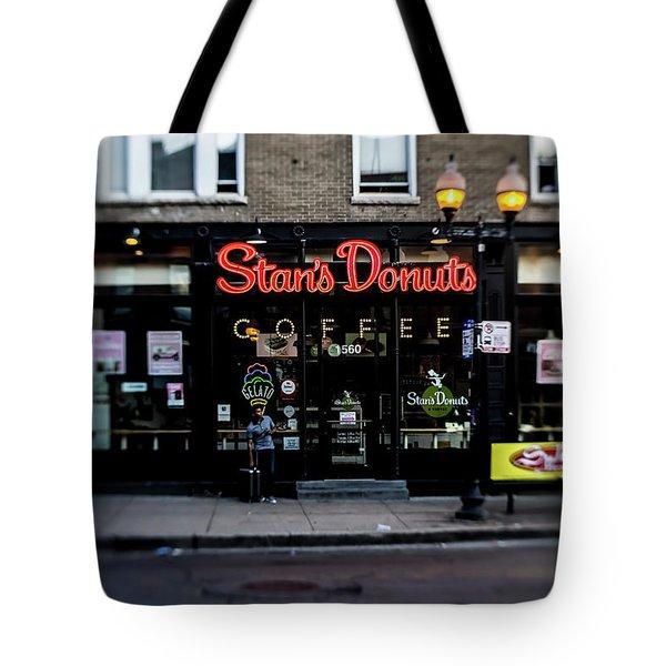 Famous Chicago Donut Shop Tote Bag