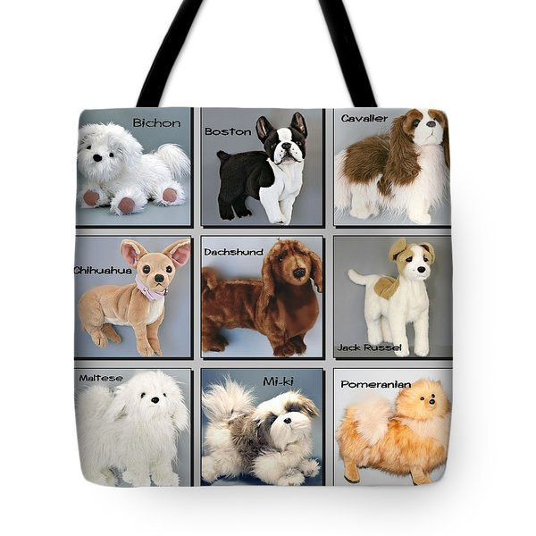 Famous Dogs Tote Bag