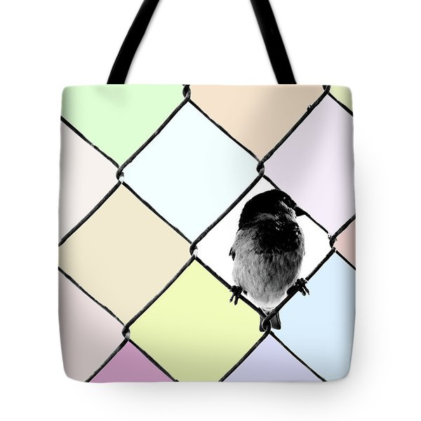 Fancy Colors Tote Bag