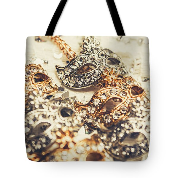 Fancy Dress Timepieces Tote Bag