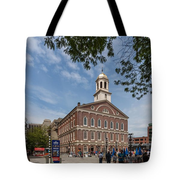 Faneuil Hall Boston Tote Bag