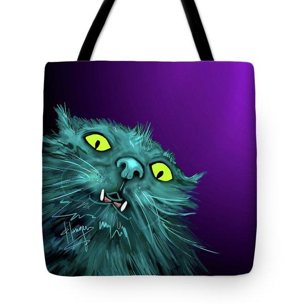 Fang Dizzycat Tote Bag