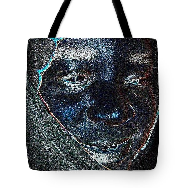 Fania Black Tote Bag
