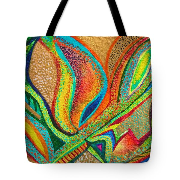 Fanning Flames Tote Bag