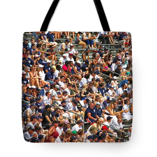 Fans Tote Bag by Mitch Cat