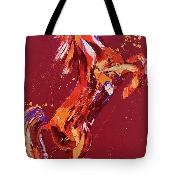Fantasia Tote Bag by Penny Warden