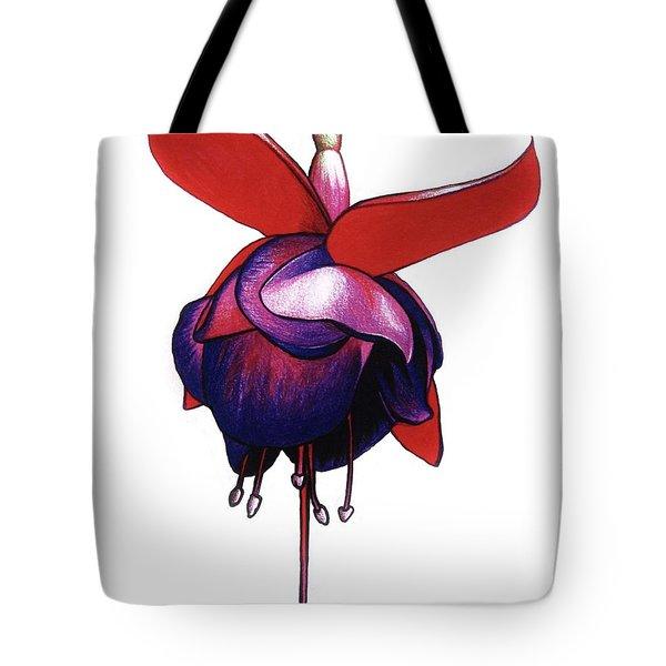 Fantastic Fuchsia Tote Bag by Mary Ellen Frazee