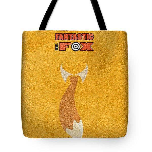 Fantastic Mr. Fox Tote Bag by Ayse Deniz