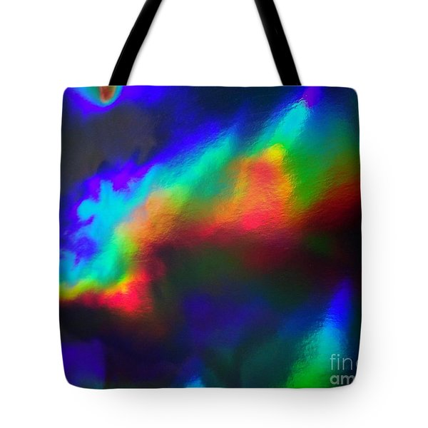 Heavenly Lights Tote Bag