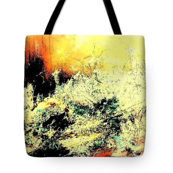 Fantasy Abstract Created Artwork    Tote Bag