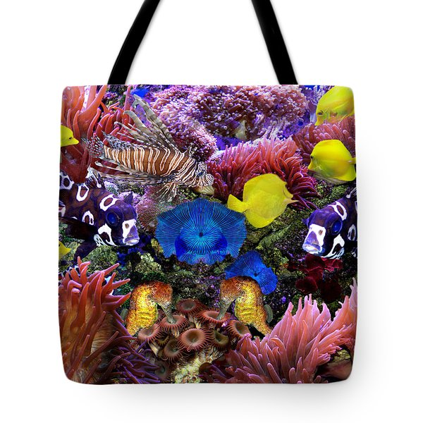 Fantasy Aquarium Tote Bag